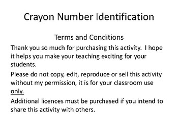 Crayon Number ID