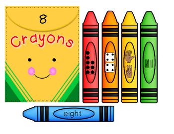 Crayon Number Match