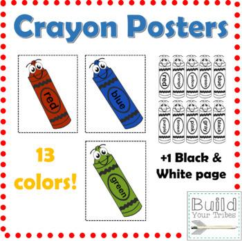 Crayon Posters