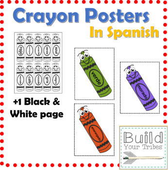 Crayon Posters in Spanish