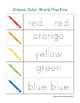 Crayon PreK Early Learning Printable Pack