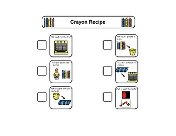 Crayon Recipe