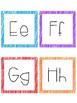 Crayon Scribble Alphabet