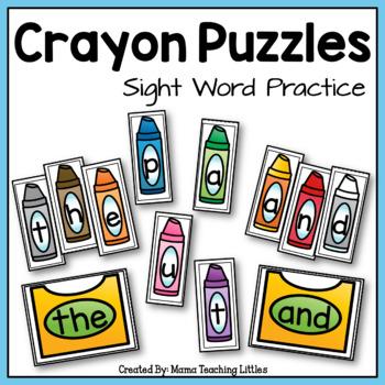 Crayon Sight Words