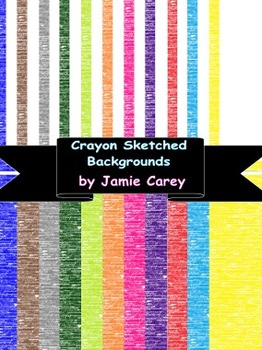 Crayon Sketched Backgrounds