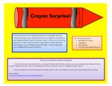 Crayon Surprise!