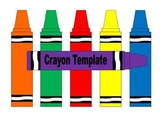 Crayon Template - 12 pages