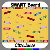 SMARTBoard Attendance Crayons