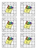Crayon Theme Behavior Punch Cards
