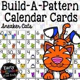 Build-A-Pattern Calendar Cards--Sneaker Cats