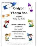 Crayon Theme Set