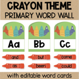 Primary Word Wall with Sight Words