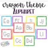 Crayon Theme _ Alphabet