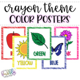 Crayon Theme _ Color Posters