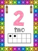 Crayon Themed 0-20 Numbers Posters