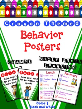 Crayon Themed Behavior Pack