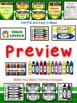 Crayon Themed Classroom Management Bundle
