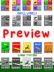 Crayon Themed School Supply Poster and Label Pack