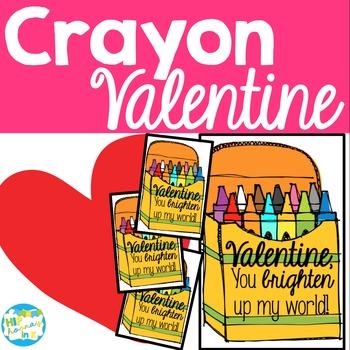 Crayon Valentine