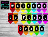 Crayon * Welcome to First Grade * Banner