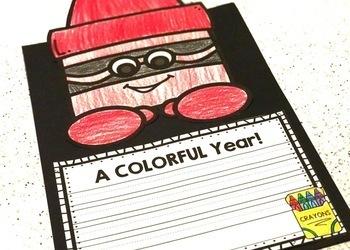Back to School Craft (Editable Crayon Craftivity)