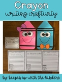 Crayon Writing Craftivity