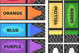 Crayon and Marker Labels