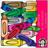 Crayons clip art - COMBO PACK- by Melonheadz
