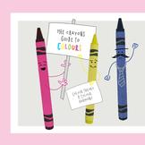 Crayon colour theory presentation (color theory)