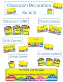 Crayon crayola theme Classroom Decoration package