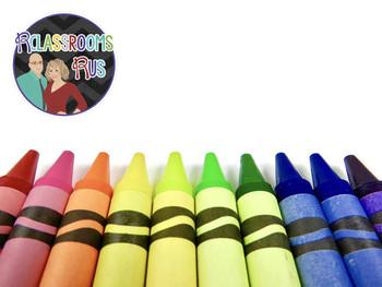 Crayons - 1