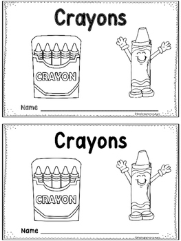 Crayons -An Emergent Reader