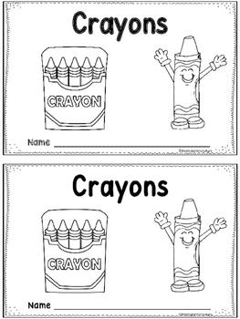Crayons -An Emergent Reader