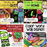 Crayons Bundle - The Days the Crayons Quit, Came Home, Chr