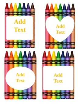 Crayons Card
