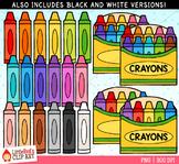 Crayons Clip Art