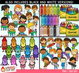 Crayons Clip Art Bundle PREORDER