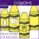 Crayons Clip Art- School Supplies {jen hart Clip Art}