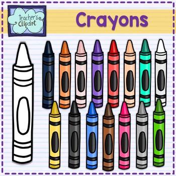 Crayons Clip art classroom supplies