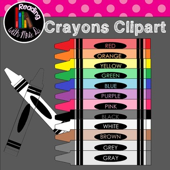 Crayons Clipart