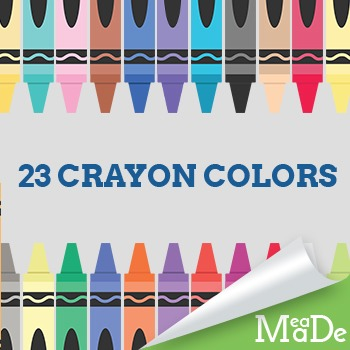 Crayons Clipart Pack