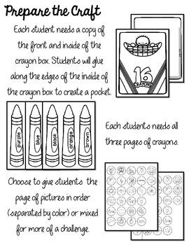 Crayons Color Craftivity