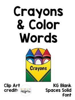Crayons & Color Name