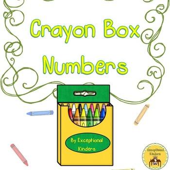 Crayons Counting Mats