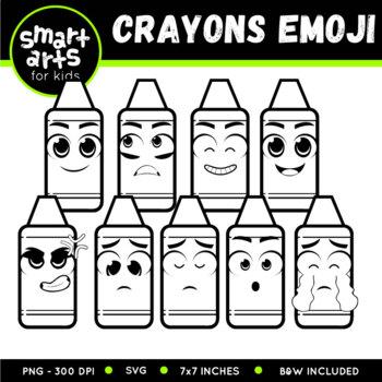Crayons Emoji Clip Art