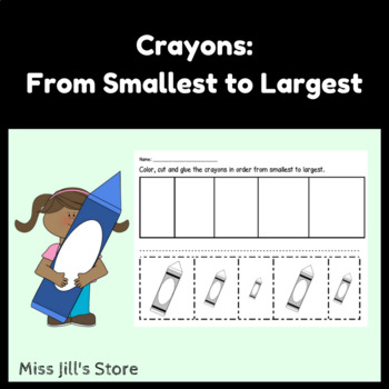 Crayons - From Smallest to Largest