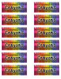 Crayons Label