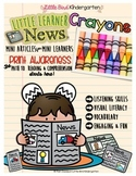 Crayons: Informational Print Awareness (Little Learners News)