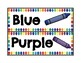 Crayons&Paint Splotches Color Signs
