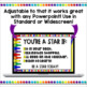 Crayons Powerpoint Backgrounds Set 1
